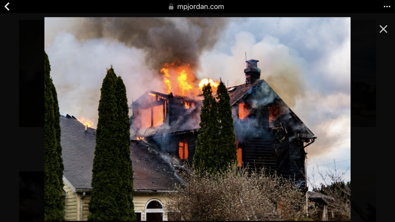 2nd Alarm House Fire on Cabbage Spring Road in Mt  Airy - Winfield
