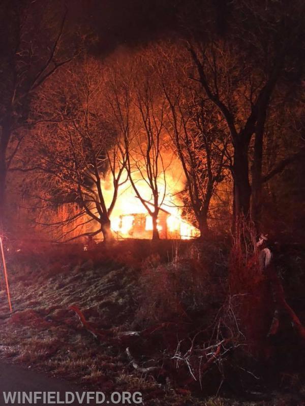 Photo courtesy of Sykesville Fire Dept.